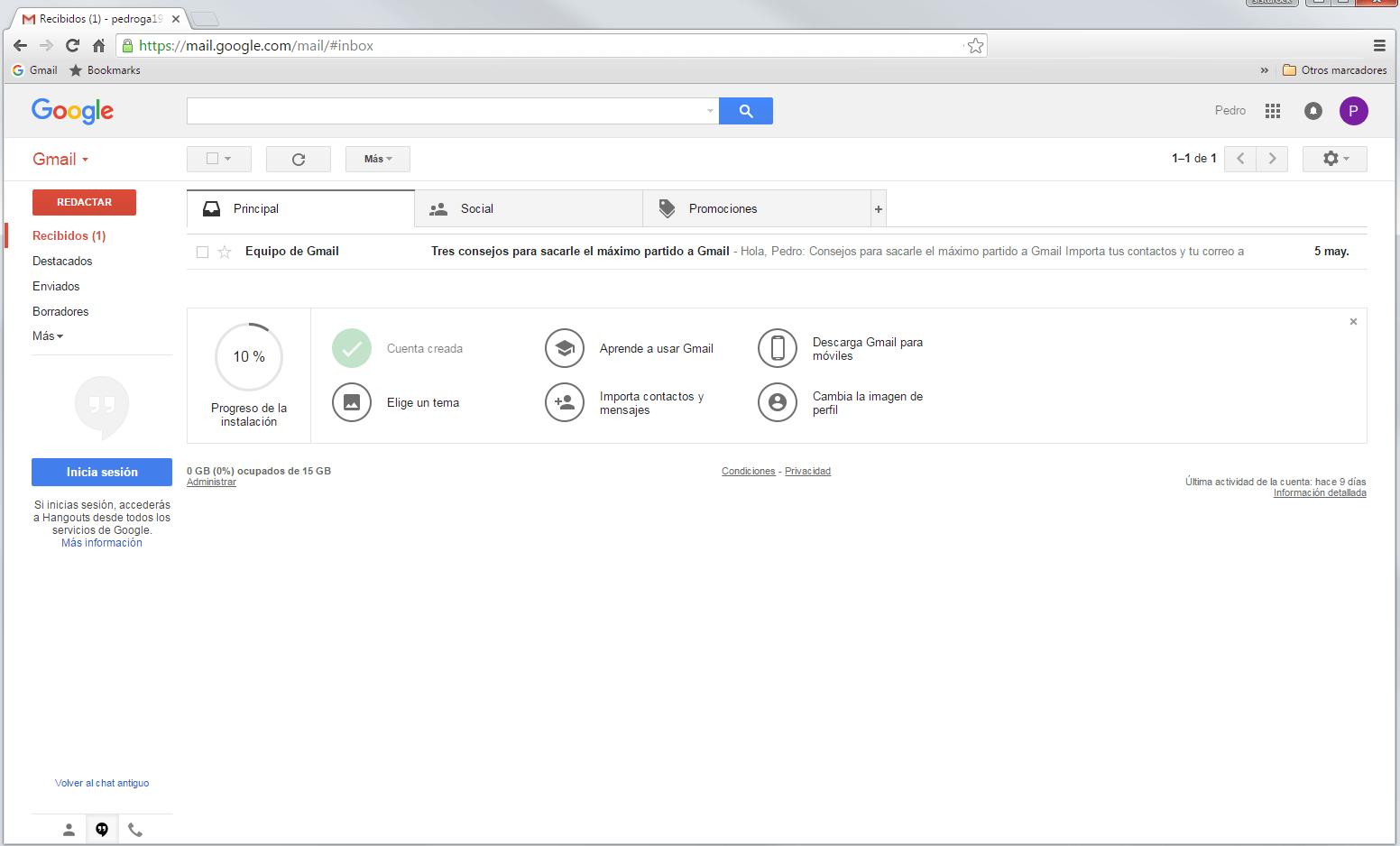 Acceder a cuenta Google 4