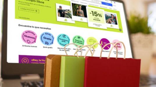 Buscar y elegir un producto en eBay