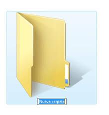 Crear Carpetas 3 Nueva Carpeta
