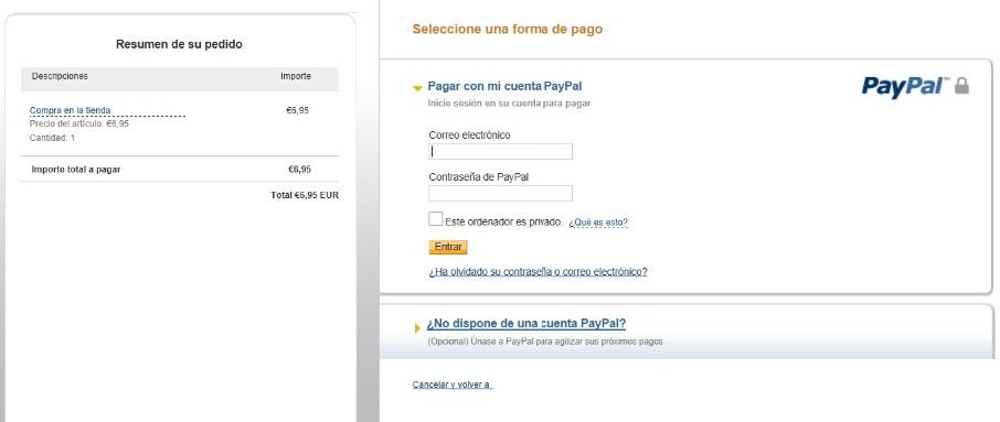 Como pagar con paypal 1