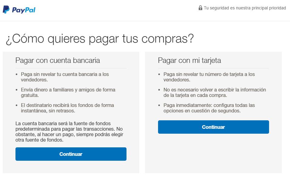 Paypal web page 5