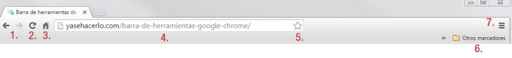 barra de herramienta google