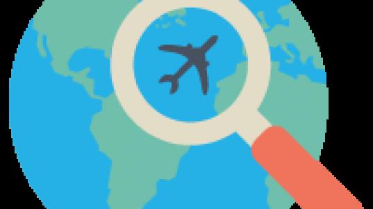 Buscar un vuelo en internet