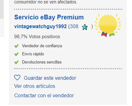 comprobar vendedor en ebay