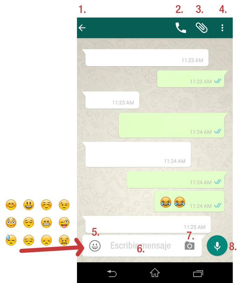 Utilizar Whatsapp en tu Móvil