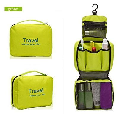 Musuntas multifunción portátil a prueba de agua bolsa neceser de aseo Viaje Organizador bolsa bolso de la colada Neceser bolsa de playa y cosmética