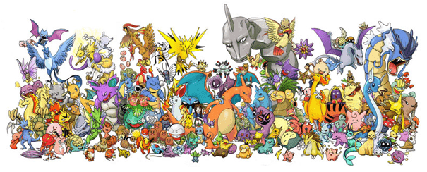 Pokemon caracteres