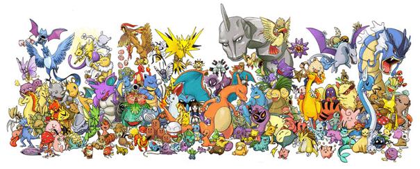 Pokemon caracteres