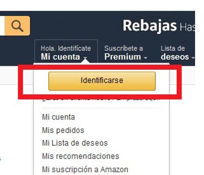 amazon configuracion cuenta