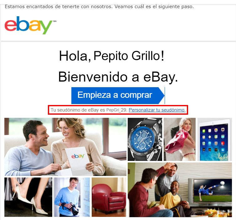 cómo crear una cuenta ebay paso a paso