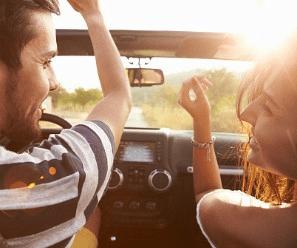 Conducir con musica