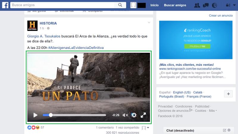 Facebook Grabar Videos 1