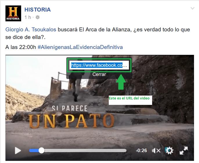 Facebook Grabar Videos 3