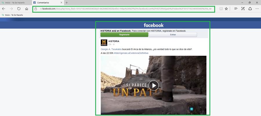 Facebook Grabar Videos 8
