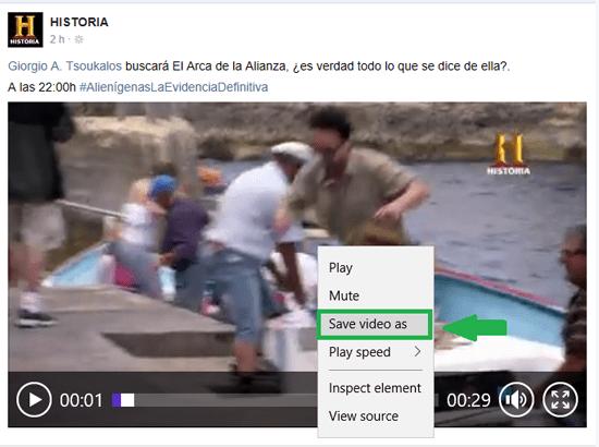 Facebook Grabar Videos 9