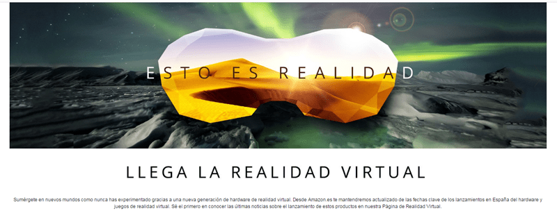 amazon realidad virtual