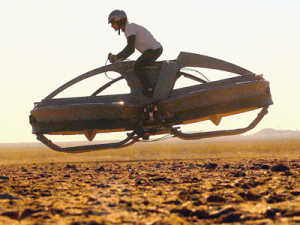 hovering bike