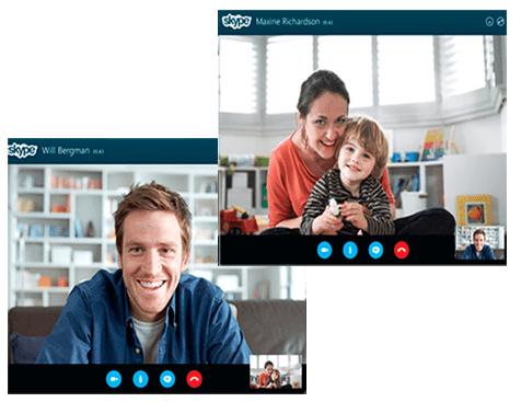 skype conversacion