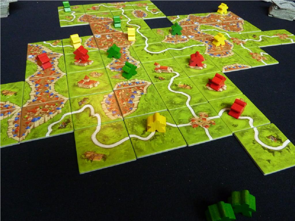 Tablero de Carcassonne