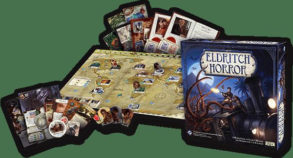 Contenido de Eldritch Horror