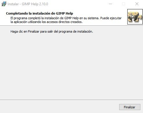 Como instalar GIMP diseño
