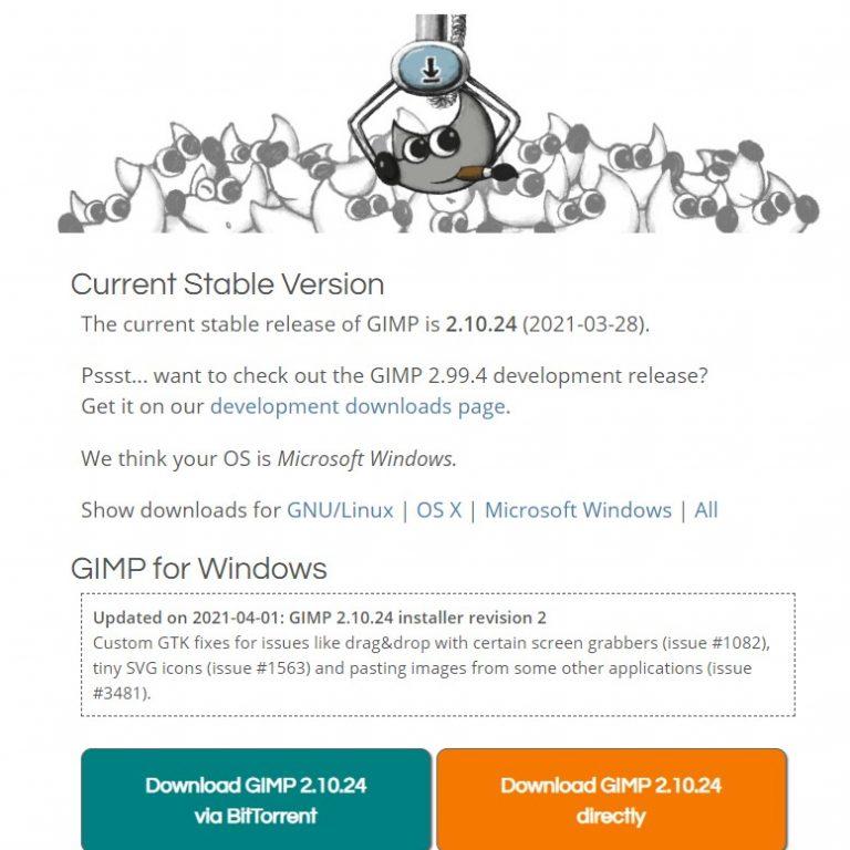 Gimp- Software gratuito de diseño