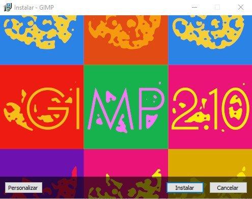 Gimp - Programa de diseño gratis
