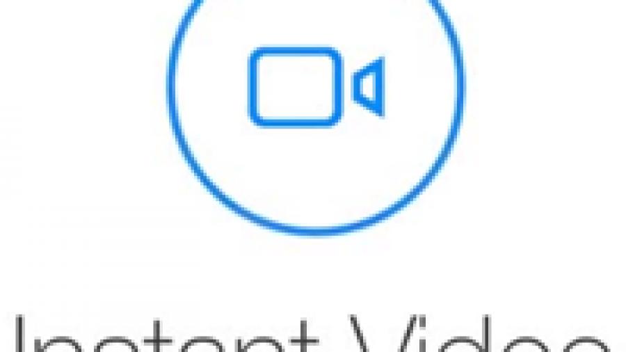 Instant video logo