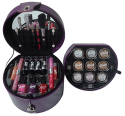 Maleta de maquillaje Glams Purple