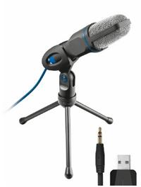 Microfono USB con trípode de Trust Mico