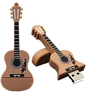 USB en forma de Guitarra