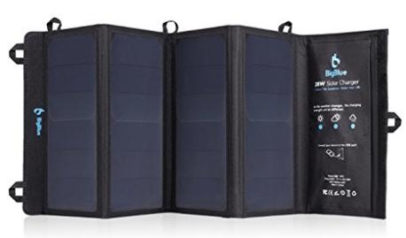 BigBlue Cargador Solar
