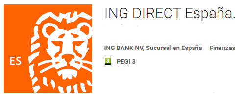 pagar con móvil ING Direct