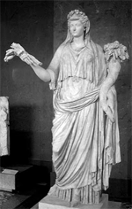 Diosa Rea, madre de los dioses en la mitología griega