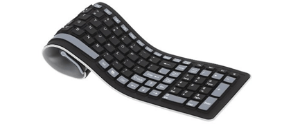 Teclado flexible KKmoon