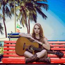 musica en la playa