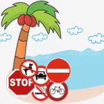 Prohibiciones en las playas españolas
