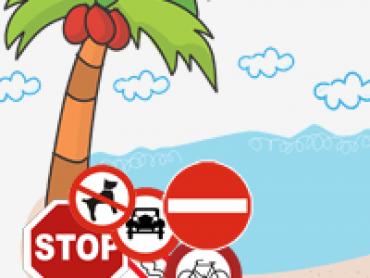 prohibiciones en las playas