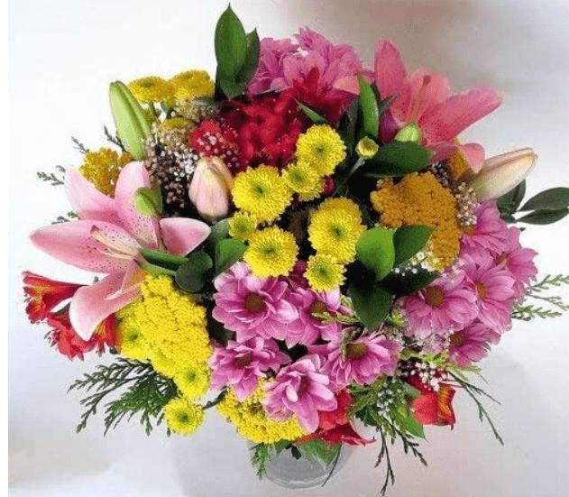 Regalo día de la madre flores
