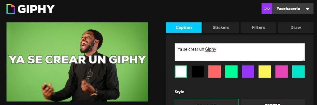 Decorar tu GIF