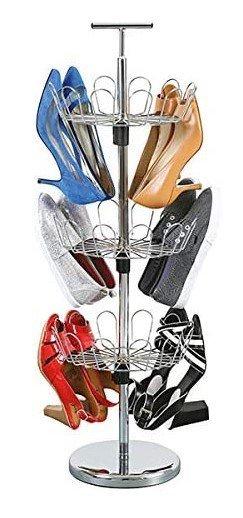 zapatero giratorio Organizar zapatos