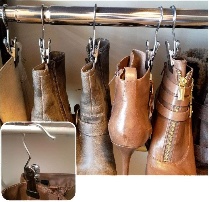 Organizar zapatos en el armario