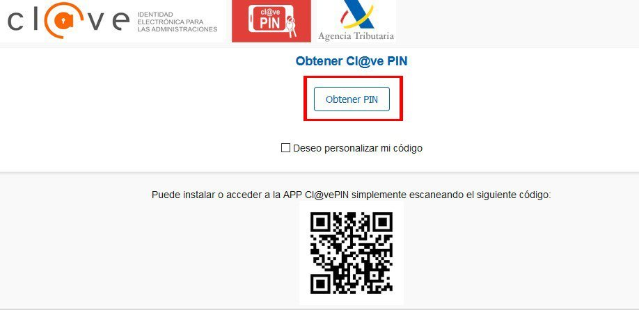 Obtener PIN de clave digital