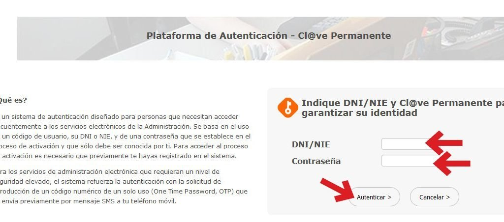 Clave digital permanente