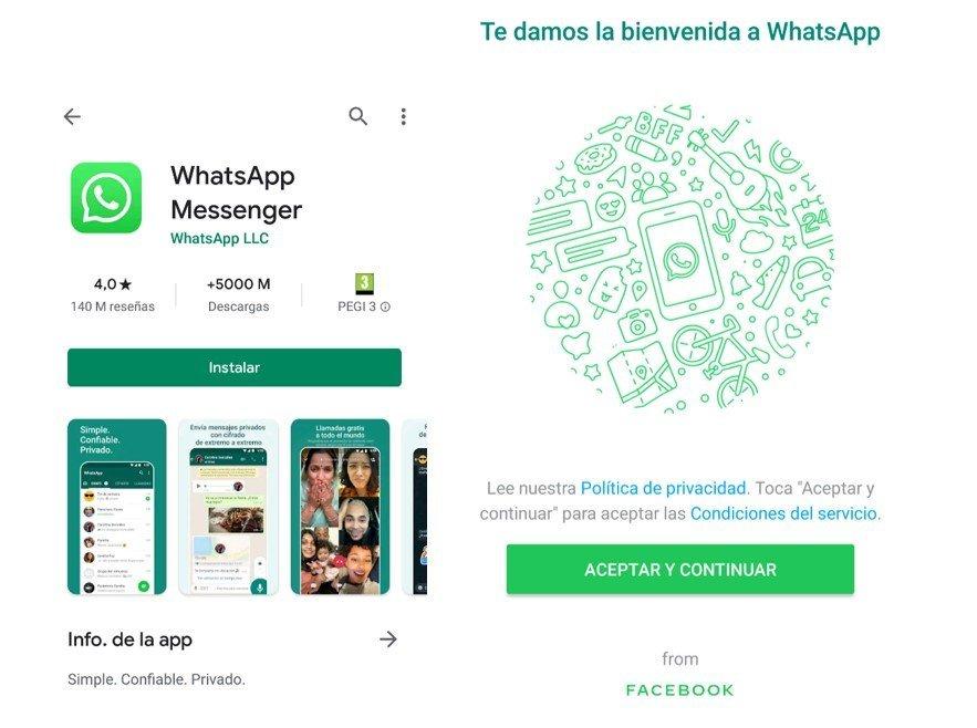 whatsapp en tu movil