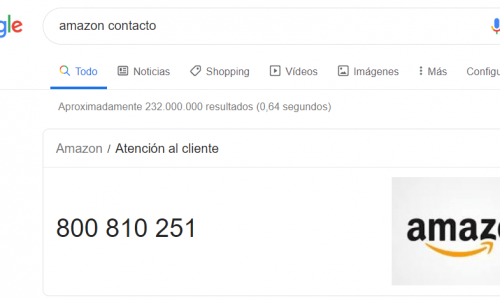 amazon como contactar